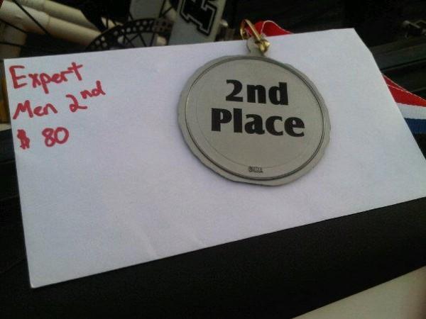 2nd Place Finish