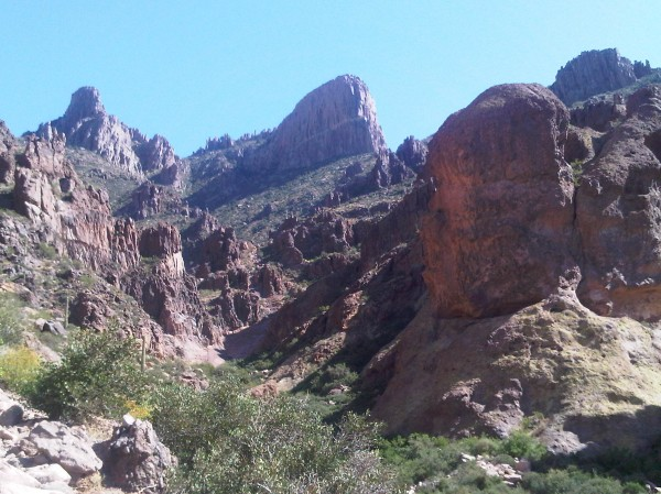 Flat Iron Peak - Superstition Mtn
