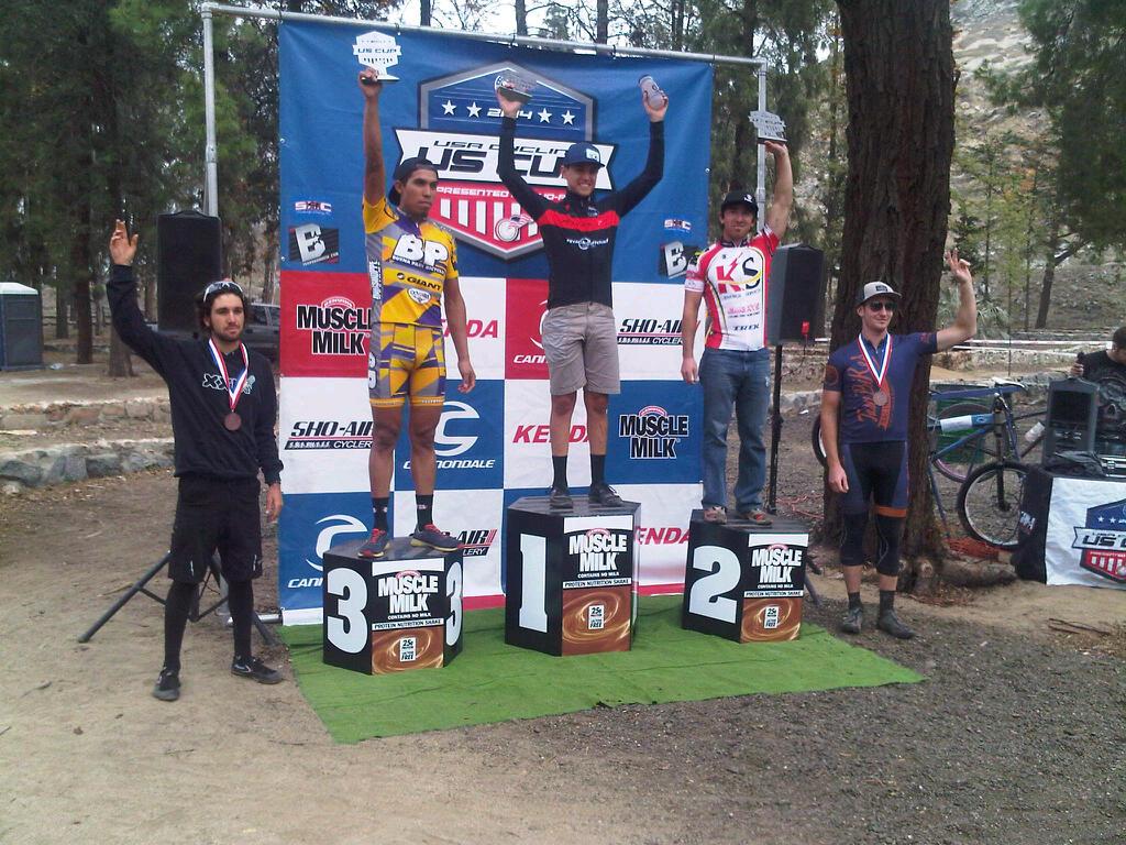 Fontana US Cup - Tim Racette 2nd Place Cat 1