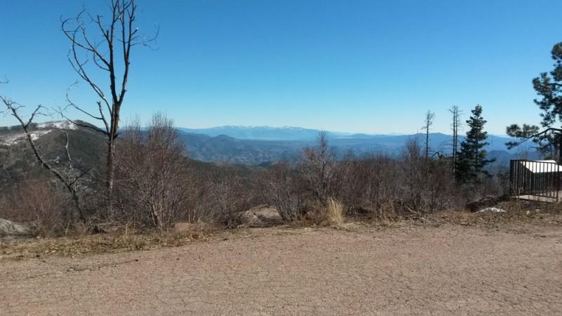 Coronado Trail Blue Vista