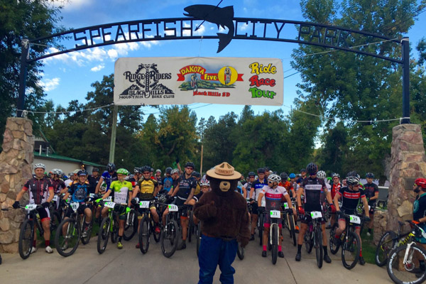 Dakota Five-O 2015 Start Line