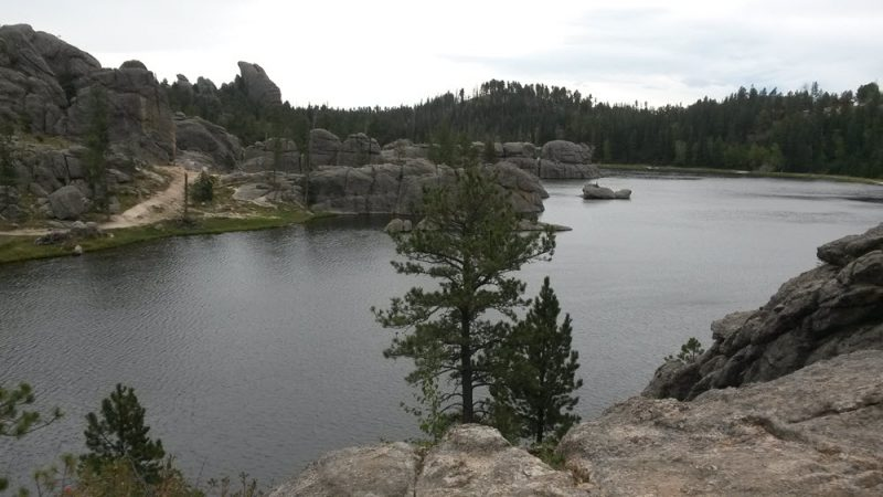 Sylvan Lake, Custer State Park in the Black Hills of South Dakota.