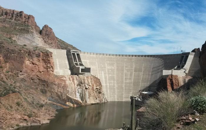 Roosevelt Lake Dam