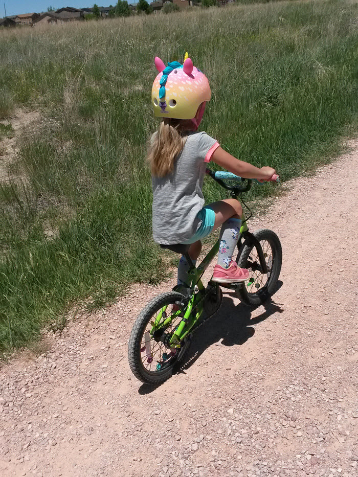 Riding Bikes with Addy