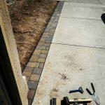 Brick Apron along Driveway