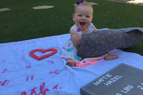 Mattie 6 months
