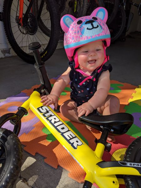 Soon to be bike rider