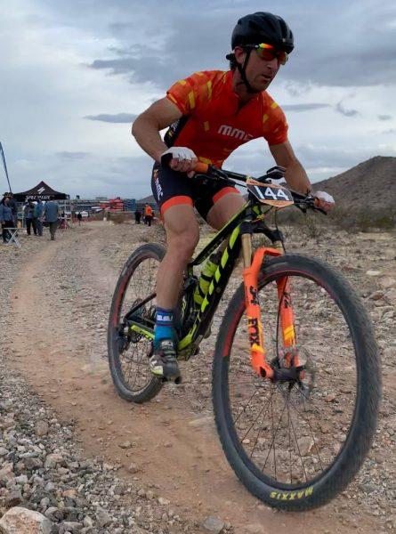Racing resumes in the desert.