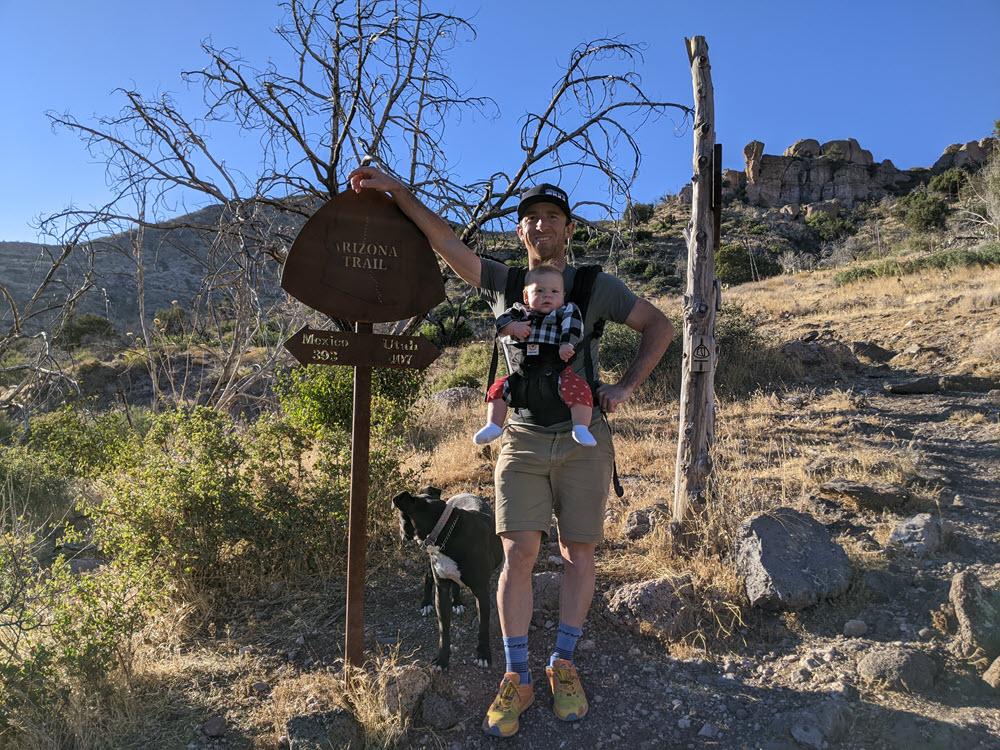 Hiking with Mattie