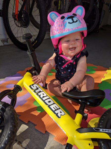 Soon to be bike rider