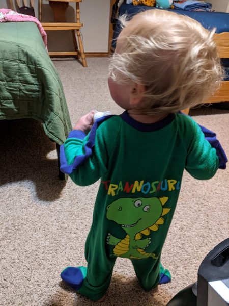 T-rex jammies