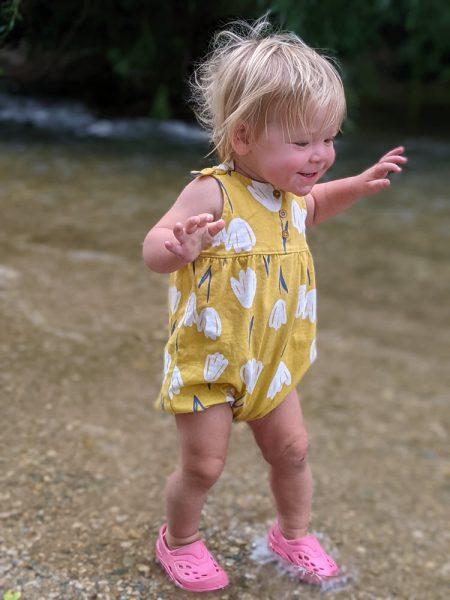 Playing in Spearfish creek